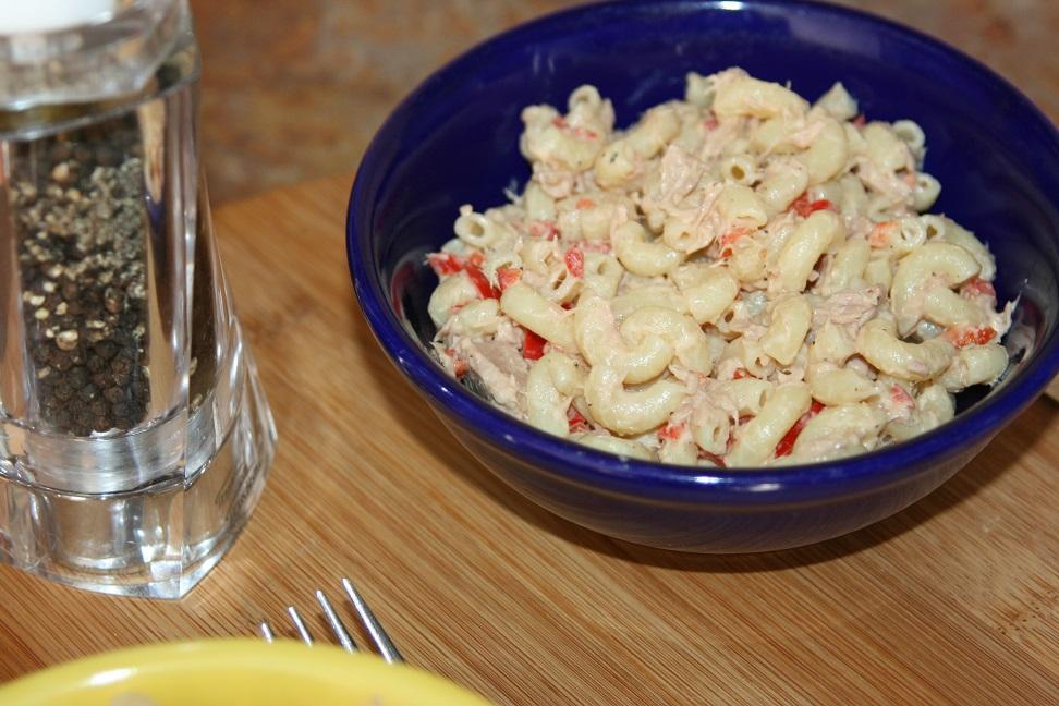 Salade de macaronis et thon