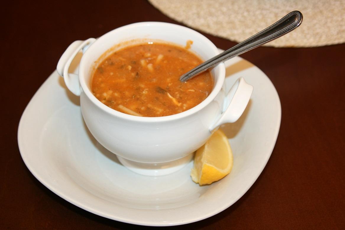 soupe harira à la viande