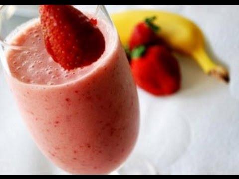 jus fraise banane