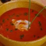 potage poivrons rouges