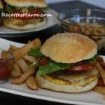 Cheeseburger 100 % Fait Maison
