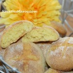 Biscuits de Semoule Sucrés au Four (Harcha)