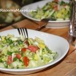 Salade Fraîche Méditerranéenne à l'Huile d'Olive