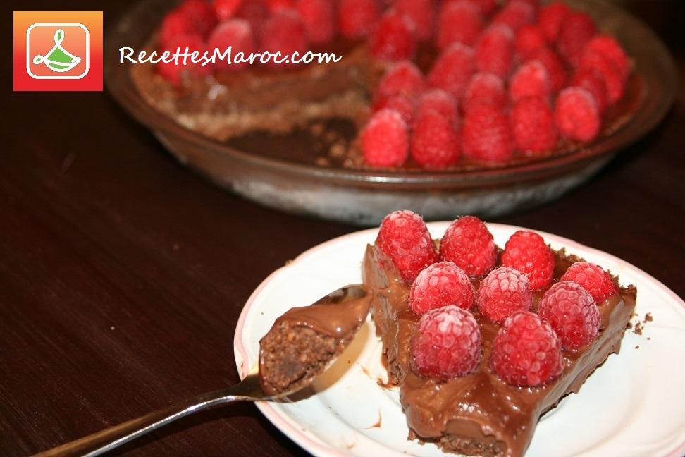 Tarte au Chocolat & Framboises