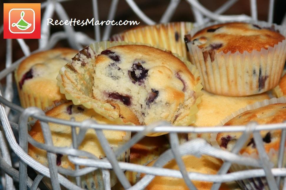 Muffins aux Bleuets et Citron