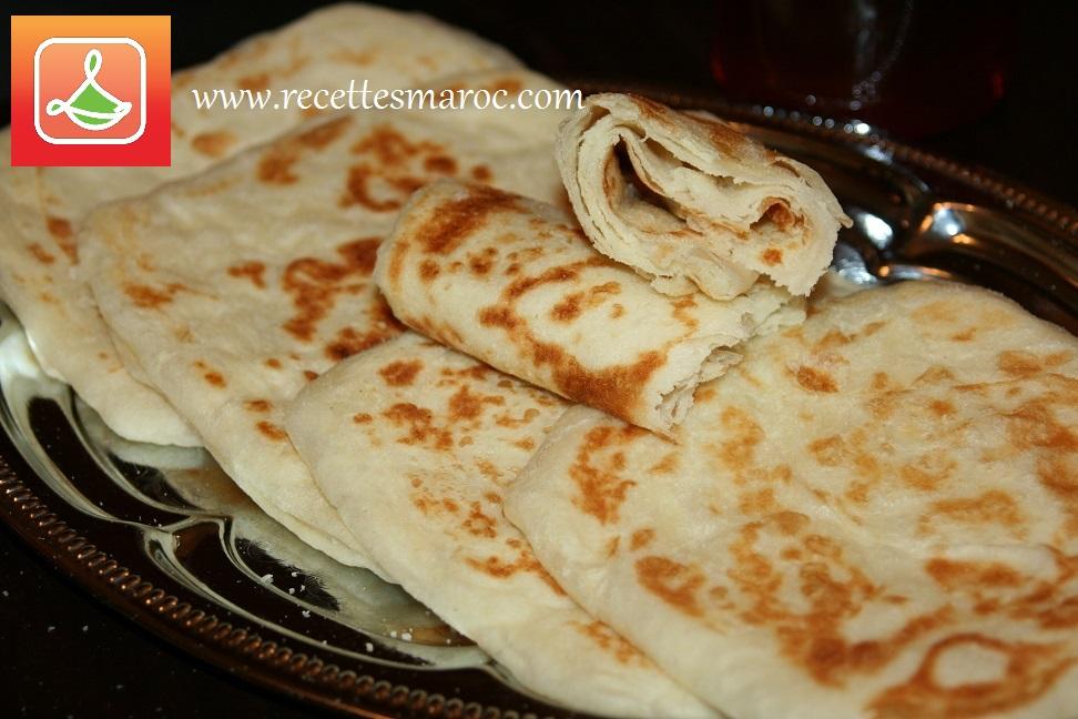 Crêpes Marocaines Rghaif ou Msemen