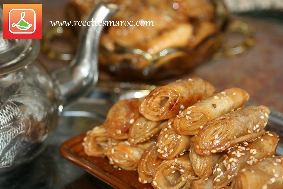Pâtisserie Babouche au Miel