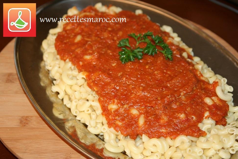 Sauce à Pâtes aux Tomates