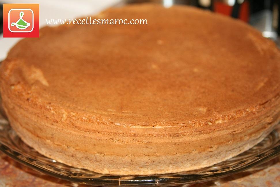 Gâteau Génoise Facile