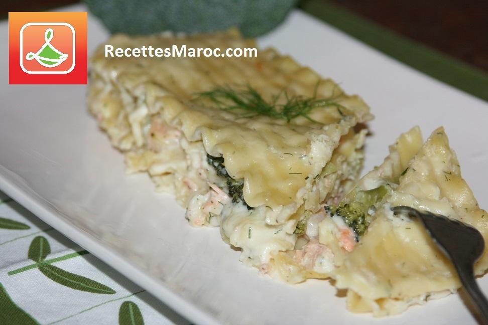 Lasagne aux Fruits de Mer et Béchamel