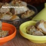 Gâteaux Marocains M'hencha aux Amandes