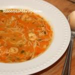 Soupe Chinoise aux Crevettes & Carottes