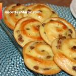 Escargots Briochés à la Crème Pâtissière & Raisins Secs