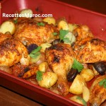 Poulet Rôti aux Herbes & Pommes de Terre