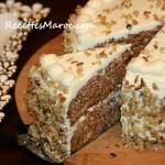 Gâteau aux Carottes & Noix
