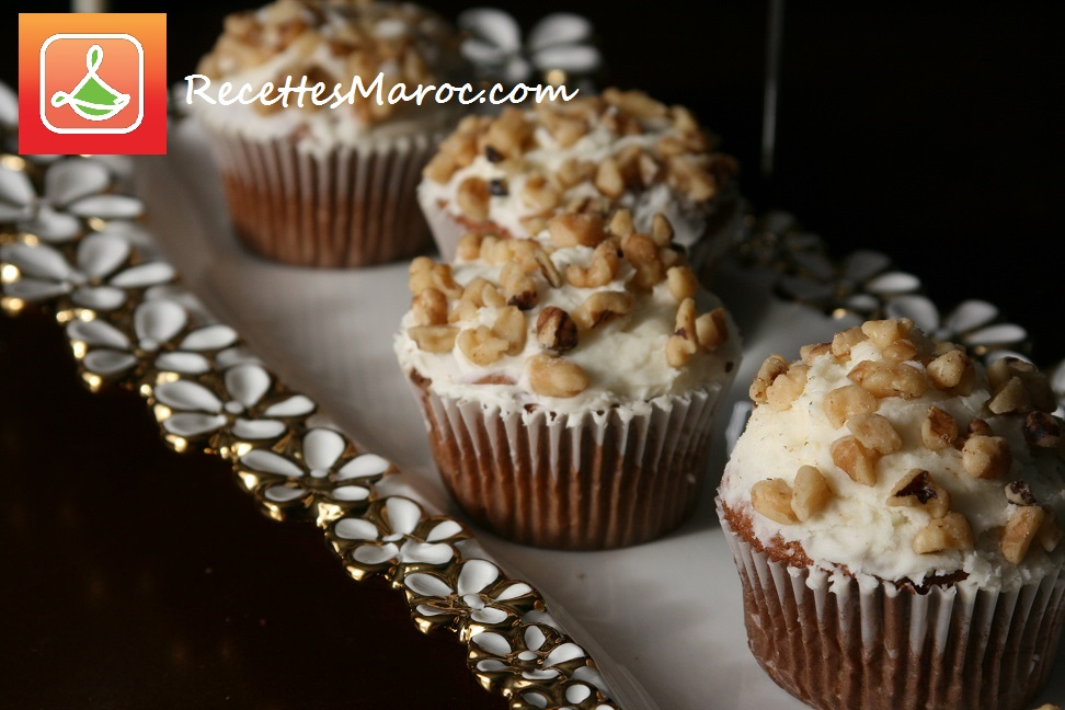 Muffins aux Bananes & Noix