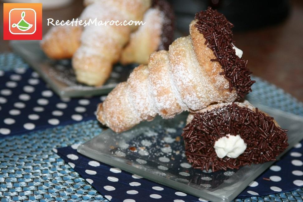 Cornets à la Crème Chantilly