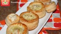 Une délicieuse recette de vol-au-vent faits à base de pâte feuilletée et farcis d'une sauce béchamel et crevettes. Vous pouvez le servir comme entrée à un plat principal ou comme […]