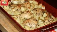 Un délicieux plat familial fait à base de cuisses de poulet, des pommes de terre et des herbes. Vous faites cuire au four et le tour est joué ! Voici […]