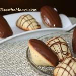 Madeleines Trempées dans le Chocolat