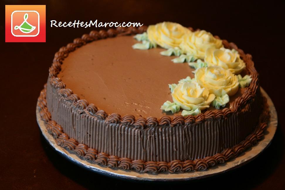 Gâteau Crème au Beurre