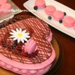 Gâteau Macaron à la Crème Mousseline