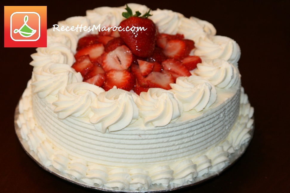 Creme gateau chantilly home baking for you blog photo - Decoration gateau avec creme chantilly ...