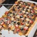 Pizza Feuilletée au Boeuf