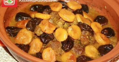 Tagine de Viande aux Pruneaux & Abricots