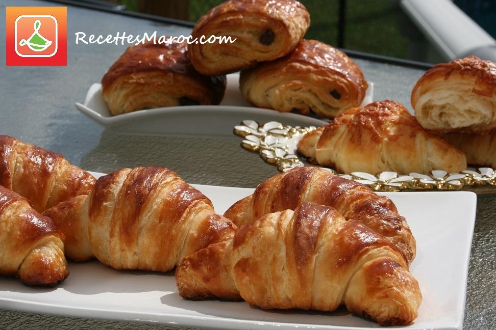 recette p 226 te 224 croissant recettes maroc