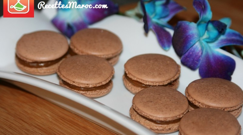 Macarons Choco-Caramel