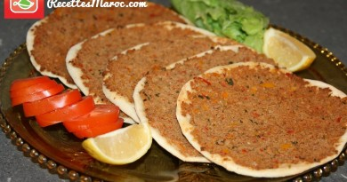Pizza Turque - Lahmacun