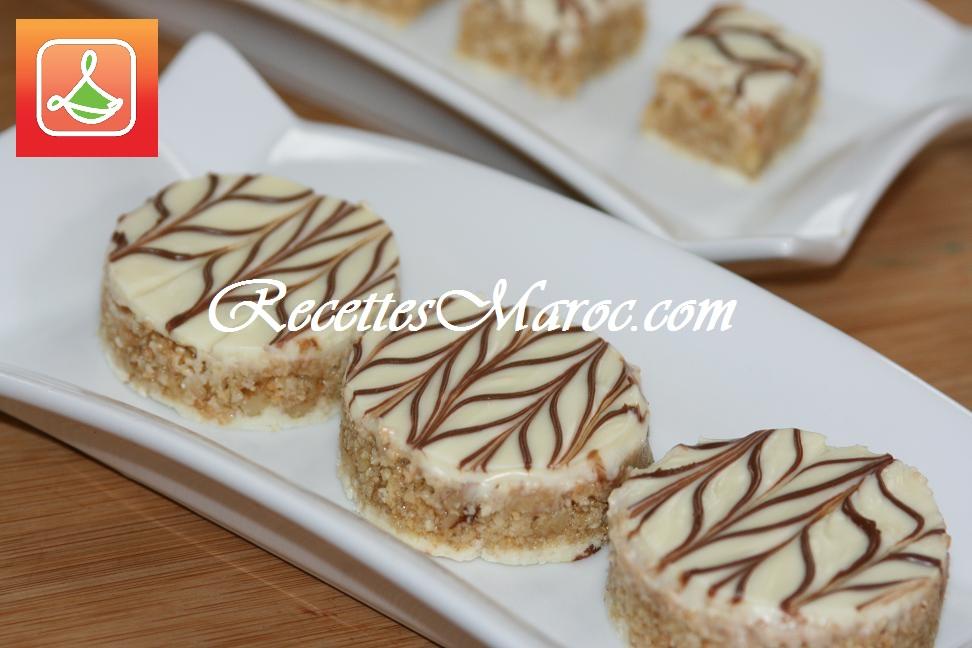 Recette petit gateau au chocolat blanc