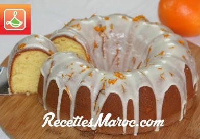 Recette : Gâteau à l'Orange