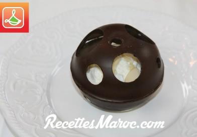 Recette : Sphère Chocolatée & Crème Glacée