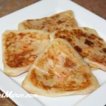 Rghaif Farci au Poulet & Fromage
