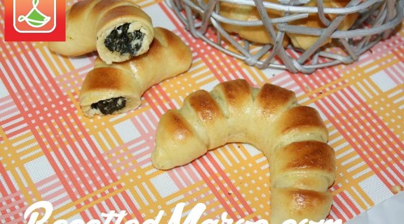 Croissants Briochés Farcis aux Épinards & Fromage
