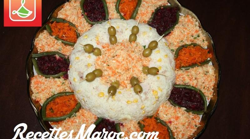 Salade Mixte aux Carottes,Betteraves & Chou