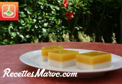 Recette : Dessert Mangue & Noix de Coco