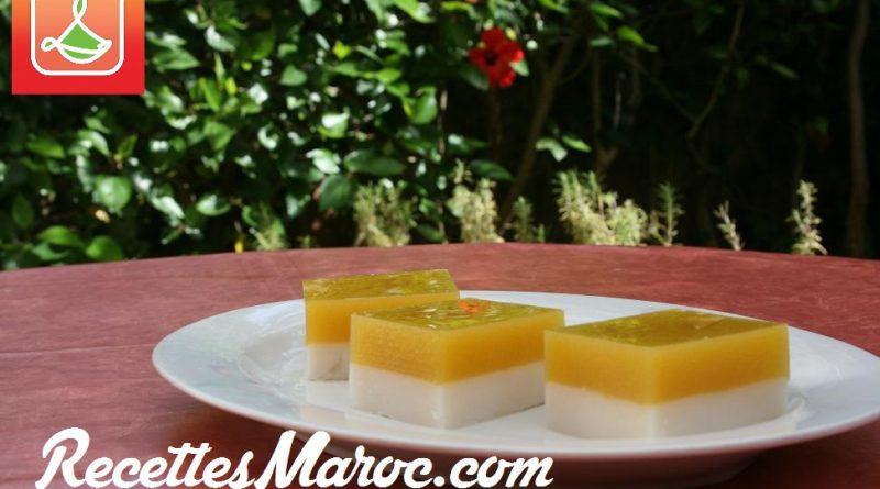 Dessert à la Mangue & Noix de Coco