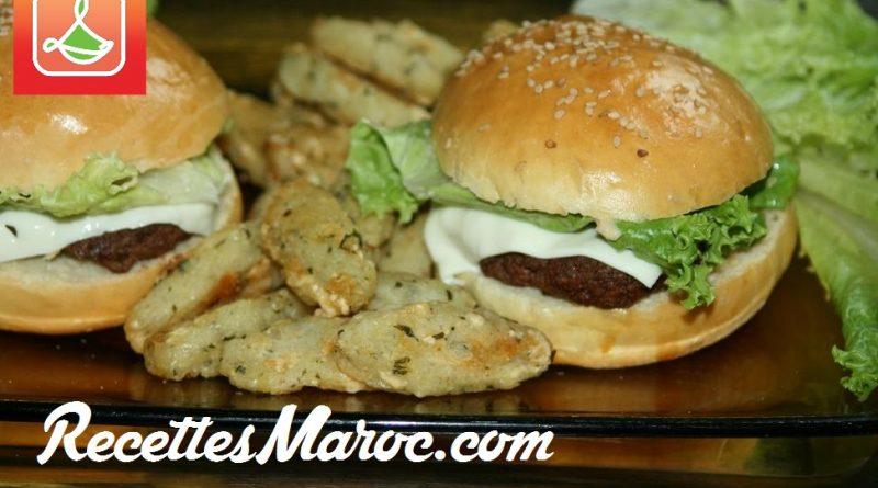 Cheeseburger Fait Maison