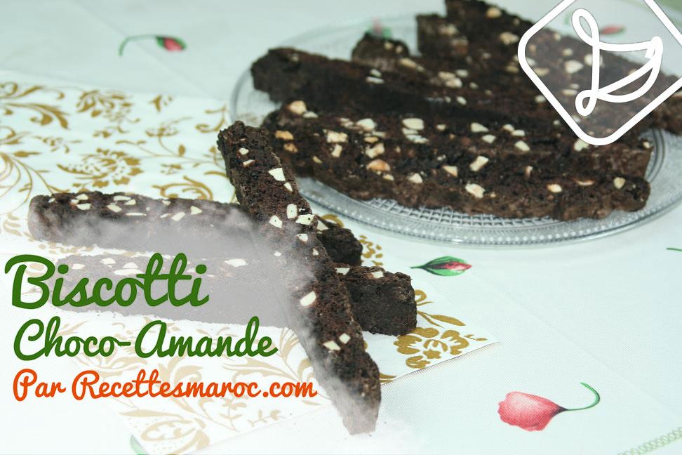 Biscotti Choco-Amande