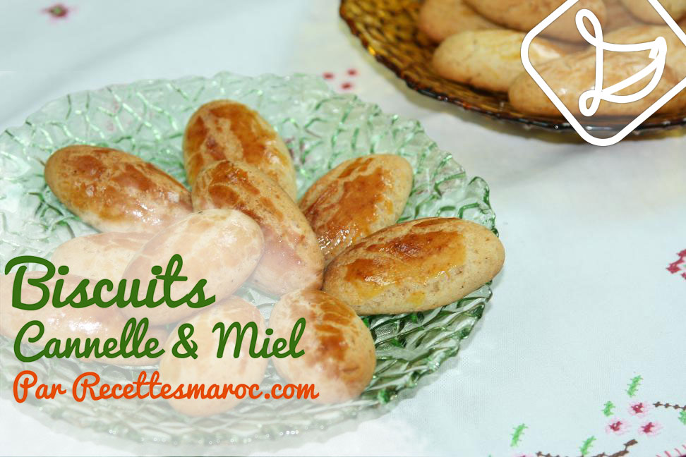 Biscuits Cannelle & Miel