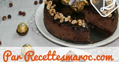 Cheesecake Ferrero
