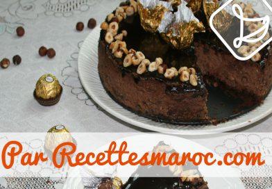 Recette : Cheesecake Ferrero