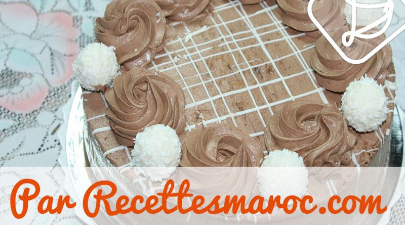 Gâteau Choco Blanc & Noir
