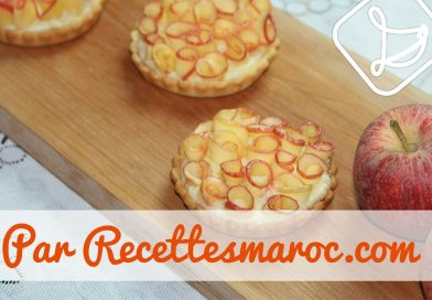 Recette : Tartelettes Roses de Pommes