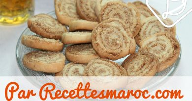 Biscuits Spirales aux Amandes