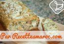 Recette : Cake Salé à la Dinde & Olives