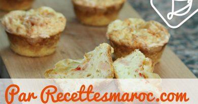 Muffins Salés aux Crevettes & Fromage